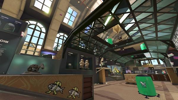 デボン海洋博物館のガチホコ