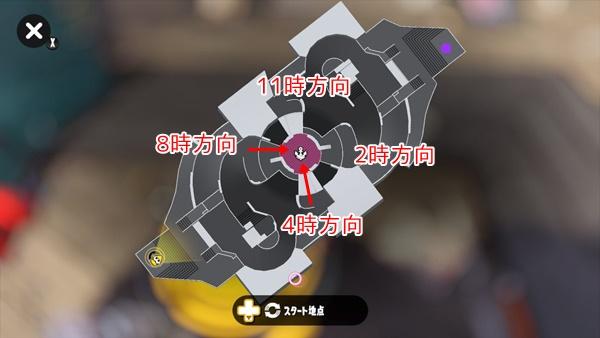 スメーシーワールドのガチエリアマップ